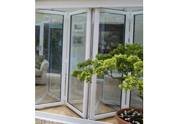 upvc bifold doors from Ecologic Windows and Doors Worcester