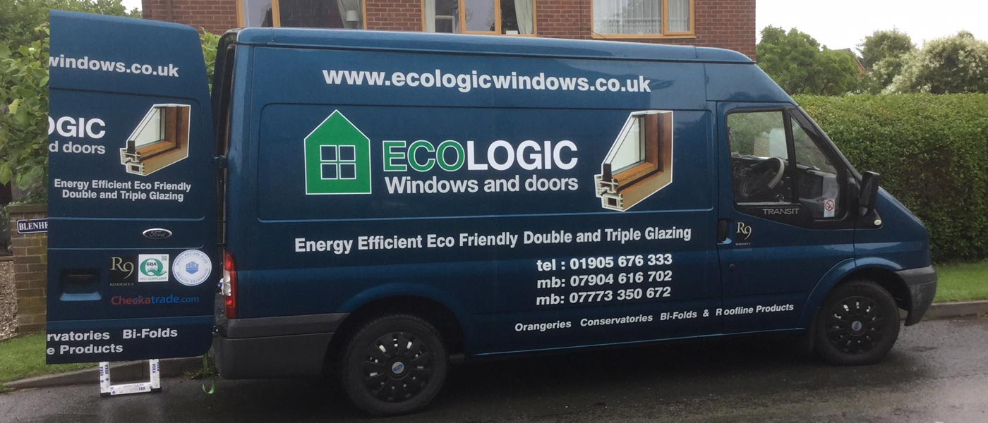 double and triple glazed window installations from Ecologic Windows and Doors Worcester
