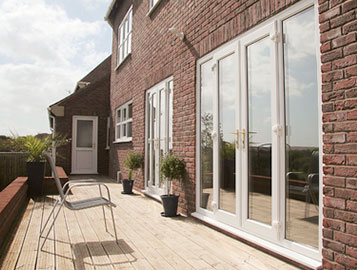 upvc french doors from Ecologic Windows and Doors Worcester