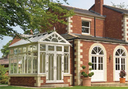 upvc gable end conservatories from Ecologic Windows and Doors Worcester