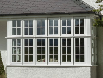 Residence 9 replica upvc windows from Ecologic Windows and Doors Worcester