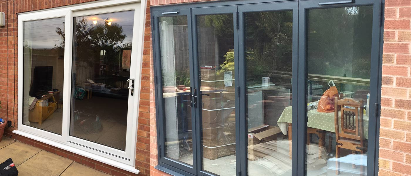 upvc bifold and sliding doors from Ecologic Windows and Doors Worcester