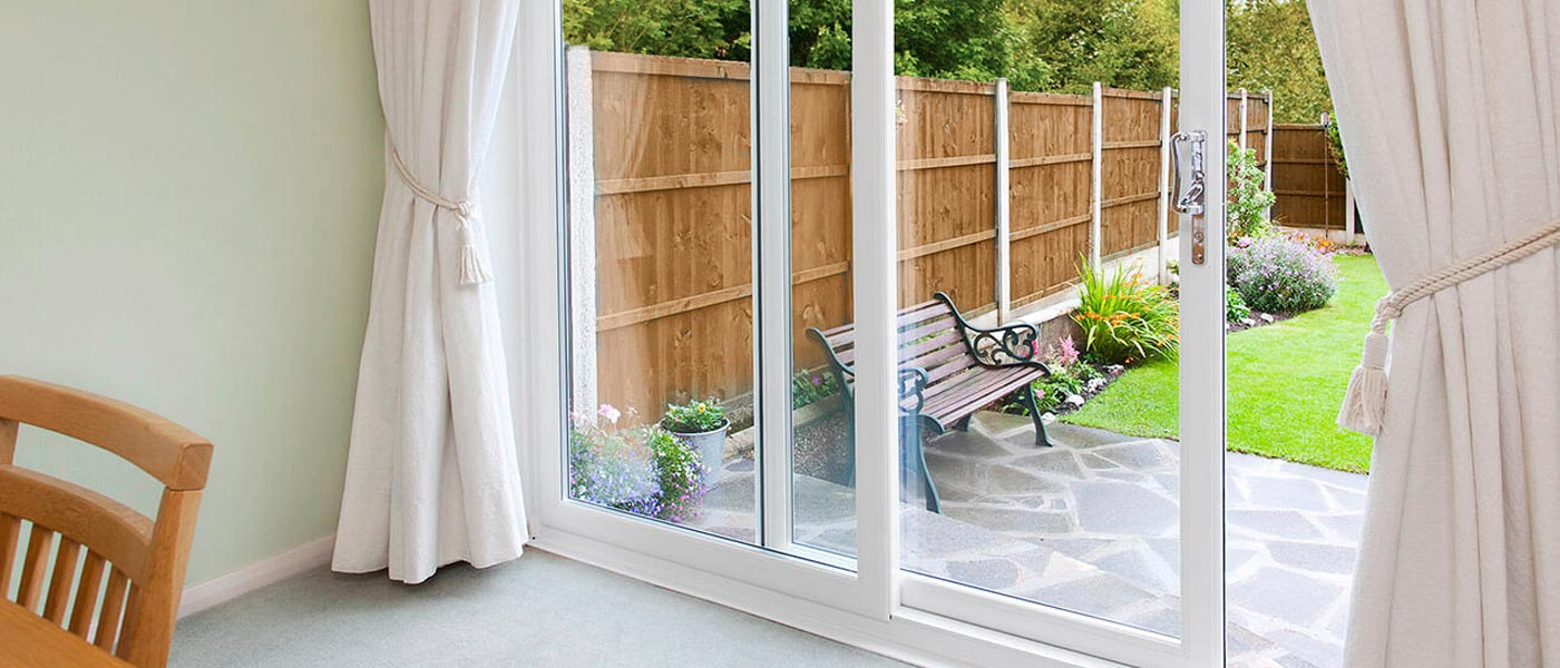 inline sliding doors from Ecologic Windows and Doors Worcester