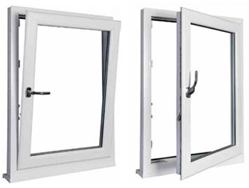 upvc tilt and turn windows from Ecologic Windows and Doors Worcester