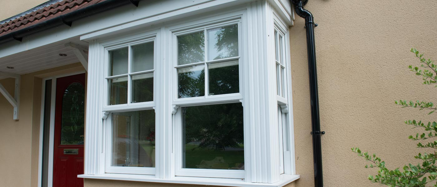 vertical slider windows from Ecologic Windows and Doors Worcester