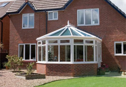 upvc victorian style conservatory and casement windows from Ecologic Windows and Doors Worcester
