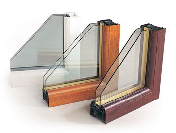 upvc casement windows cut outs from Ecologic Windows and Doors Worcester